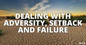 Overcome setback and failure to create success