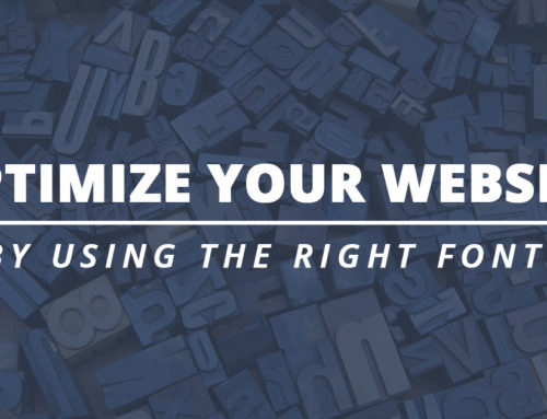 How to Optimize Your Website Using Fonts