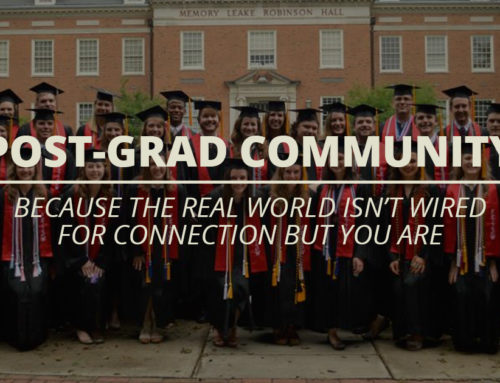 Finding Community and Connection After Graduation