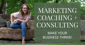 Marketing coaching with Aly Hathcock