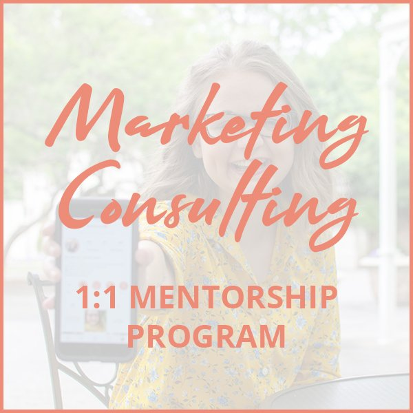 Marketing coaching and marketing consulting with Aly Hathcock