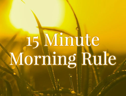 15 Minute Miracle Morning – Self-Care Style