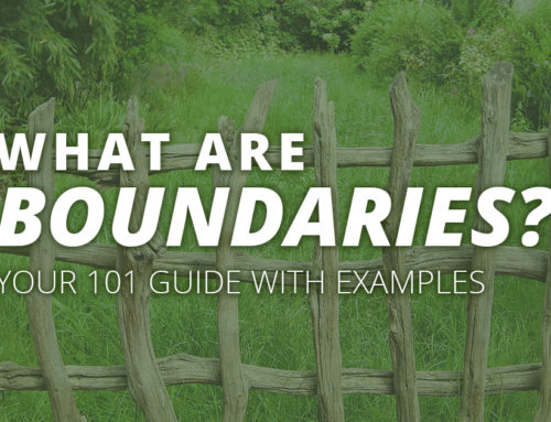 "Answering the Question ""What Are Boundaries?"" with Examples: A Guide for Adults and Busy Women"