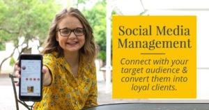 Social media management - facebook management - intagram management - pinterest management
