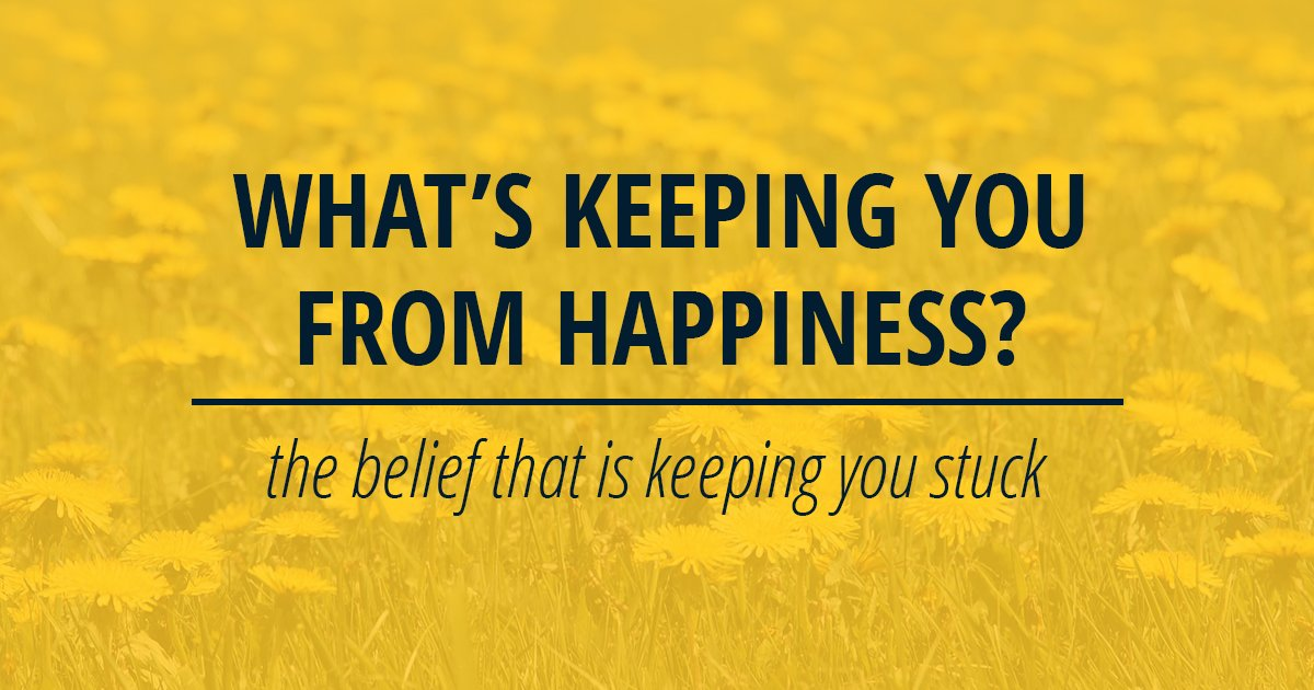 What's Keeping You From Happiness
