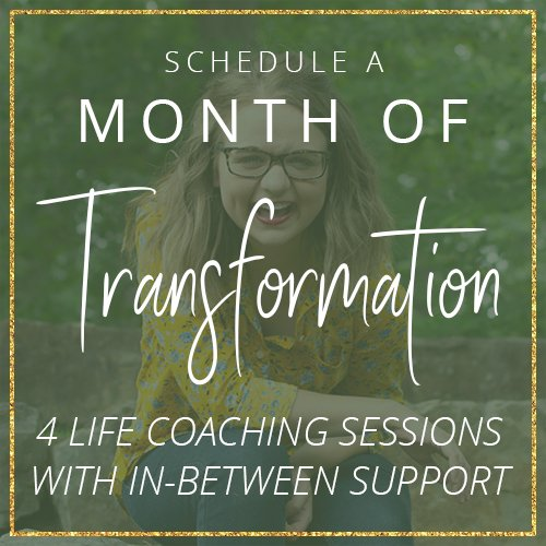 Grab a Transformation Month package with life coach Aly Hathcock