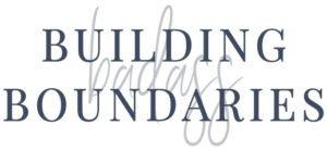 Building Badass Boundaries workbook logo