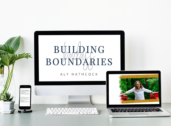 Building Badass Boundaries - A workbook to help you build healthy boundaries and maintain healthy boundaries