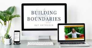 Boundaries Course - setting healthy boundaries featured image